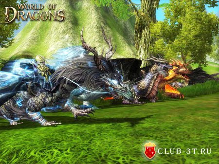 Клиентская онлайн игра World of Dragons